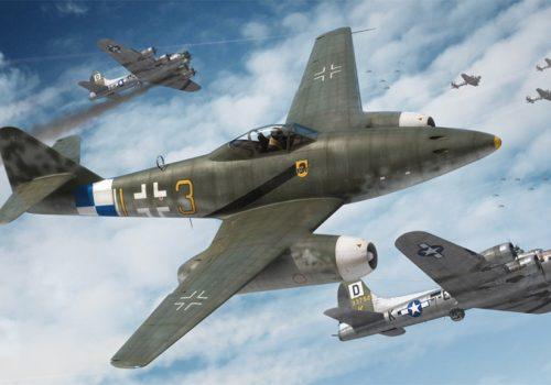 ME-262-flying