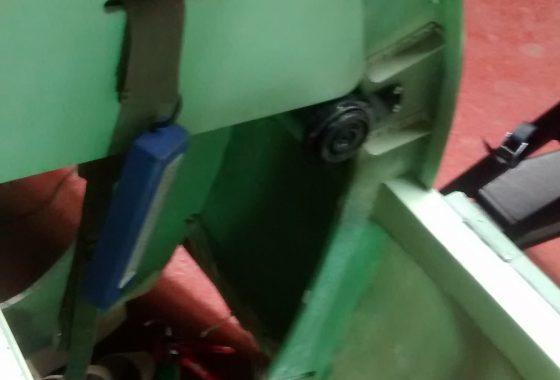 armoured plate & headrest
