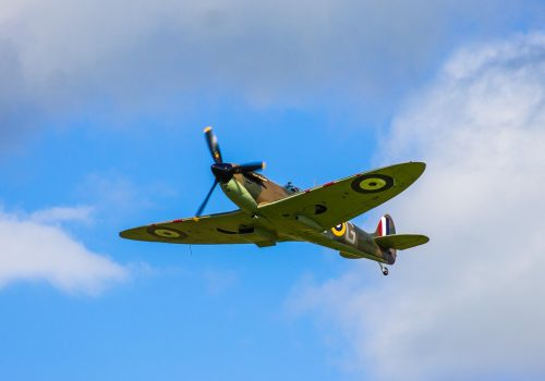 Plane Military Spitfire Airplane Fighter War
